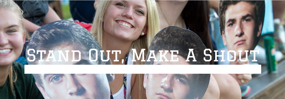 Stand out, Make a shout with Cheer Heads